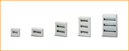 Распределительные шкафы (боксы) без дверцы Europa ABB