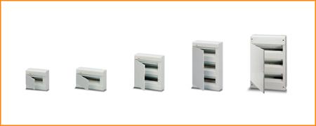 Распределительные шкафы (боксы) с непрозрачной дверцей Europa ABB
