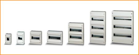 Распределительные шкафы (боксы) без дверцы Europa Polycarbonate ABB