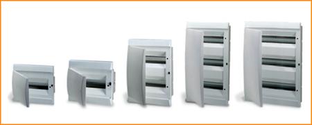 Распределительные шкафы (боксы) с непрозрачной дверцей Unibox ABB