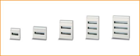 Распределительные шкафы (боксы) без дверцы Unibox ABB