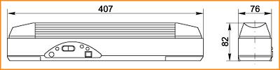 ЛБА 3923, ЛБА 3923А - габаритные размеры