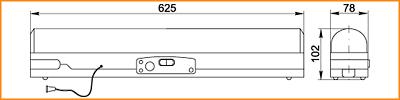 ЛБА 3924, ЛБА 3924А - габаритные размеры