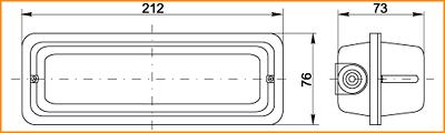 ЛПО 3053 - габаритные размеры