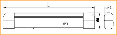 ЛПО 3011 - габаритные размеры