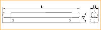 ЛПО 3016 - габаритные размеры