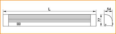 ЛПО 3018 - габаритные размеры