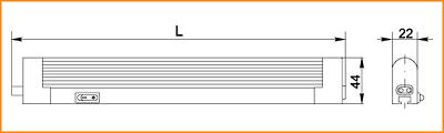 ЛПО 2001 - габаритные размеры