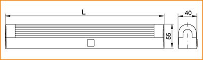 ЛПО 2003 - габаритные размеры