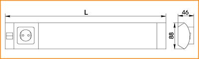 ЛПО 2011 - габаритные размеры
