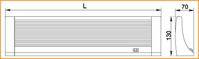 ЛПО 2014 - габаритные размеры