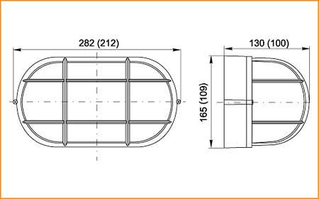 НПП 1402, НПП 1202 - габаритные размеры