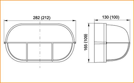 НПП 1404, НПП 1204 - габаритные размеры