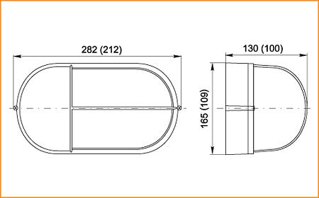 НПП 1405, НПП 1205 - габаритные размеры