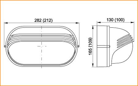НПП 1407, НПП 1207 - габаритные размеры