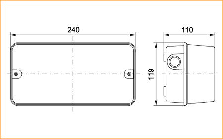 НПП 3006 - габаритные размеры