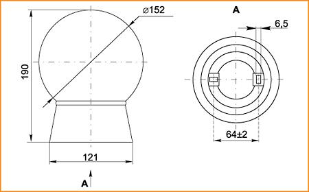 НПП 9101 - габаритные размеры