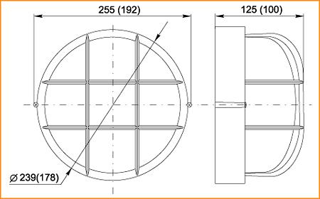 НПП 1302, НПП 1102 - габаритные размеры