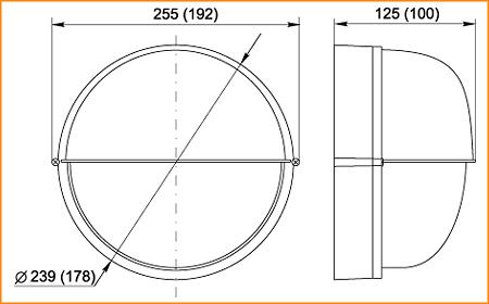 НПП 1303, НПП 1103 - габаритные размеры