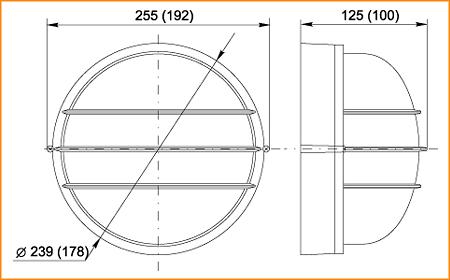 НПП 1306, НПП 1106 - габаритные размеры
