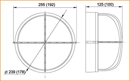 НПП 1308, НПП 1108 - габаритные размеры