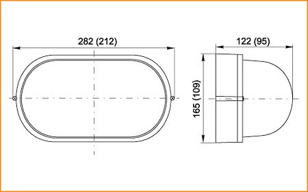 НПП 1401, НПП 1201 - габаритные размеры