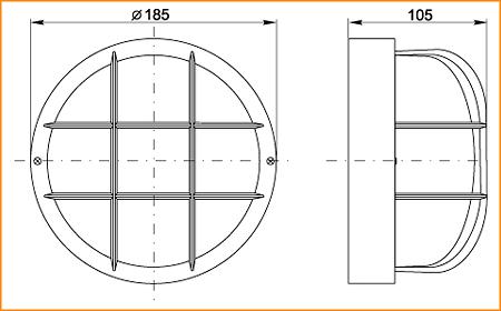 НПП 2602 - габаритные размеры