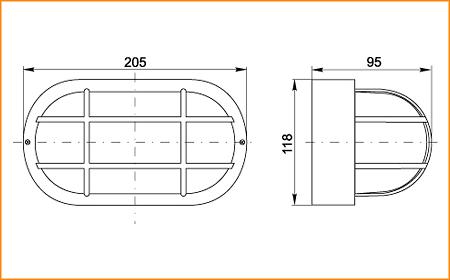 НПП 2603 - габаритные размеры