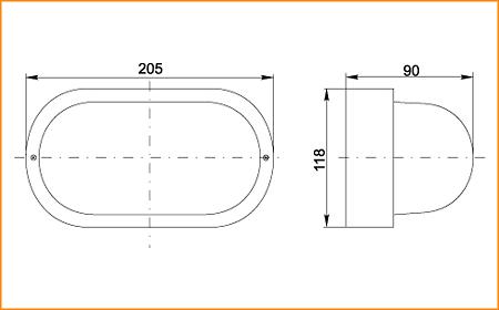 НПП 2603А - габаритные размеры