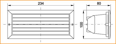НПП 3101 - габаритные размеры