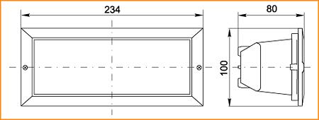 НПП 3102 - габаритные размеры