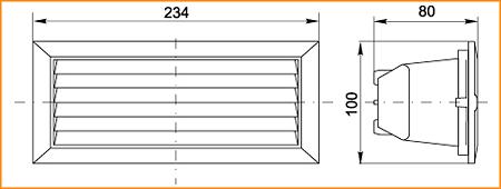 НПП 3103 - габаритные размеры
