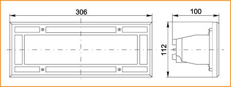 НПП 3114 - габаритные размеры