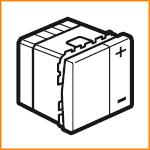 Светорегулятор без нейтрали двухпроводной 400Вт 230В Legrand 78401