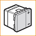 Светорегулятор без нейтрали двухпроводной 400Вт 230В Legrand 79204