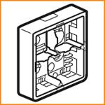 Накладная монтажная коробка Legrand 80274