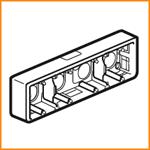 Накладная монтажная коробка Legrand 80284