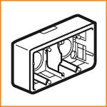 Накладная монтажная коробка Legrand 80285