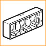 Накладная монтажная коробка Legrand 80286