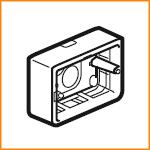 Накладная монтажная коробка Legrand 80289
