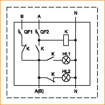 Принципиальная схема ЩАП-12