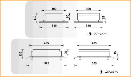 CMG/R - габаритные размеры