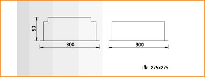 CMP/R - габаритные размеры