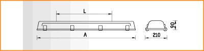 INOX - габаритные размеры