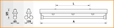 KRK - габаритные размеры
