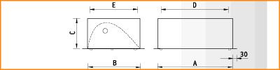LBA/R - габаритные размеры