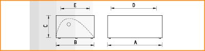 LBA/S - габаритные размеры