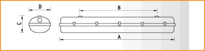 LZ - габаритные размеры