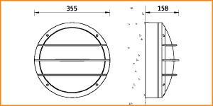 NBT 17 - габаритные размеры