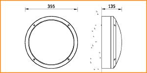 NBT 18 - габаритные размеры